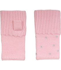 women's carolyn rowan accessories starry merino wool fingerless gloves