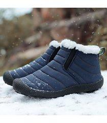 stivaletti invernali da neve in tessuto impermeabile