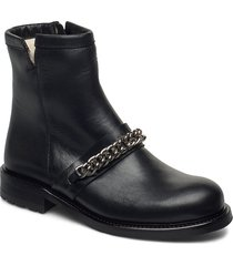 boots 4799 shoes boots ankle boots ankle boot - flat svart billi bi