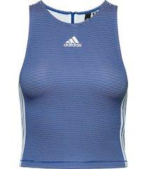 w aac tank t-shirts & tops sleeveless blå adidas performance