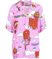 alessandro enriquez italian dreams viscose shirt