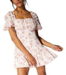 minkpink love story babydoll dress