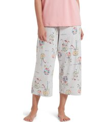 hue fishbowl cocktail capri women's pajama pant
