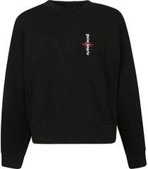 palm angels statement logo sweatshirt