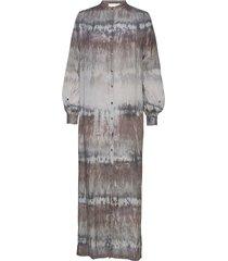 lizzy maxi dress galajurk multi/patroon rabens sal r