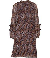 kalistaiw short dress knälång klänning multi/mönstrad inwear