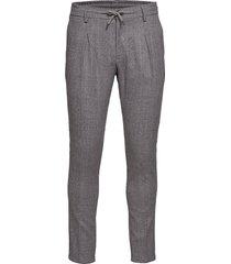 blake casual broek vrijetijdsbroek grijs bruun & stengade