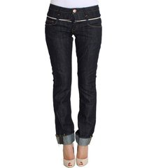 denim cotton bottoms straight fit jeans