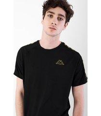 camiseta hombre 222 banda coen slim - kappa