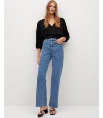 blouse met plooidetail