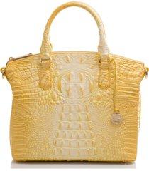 brahmin duxbury leather satchel