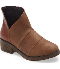 women's naot emerald bootie, size 5us - brown