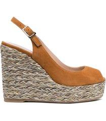 paul warmer wedge slingback sandals - neutrals