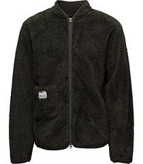original fleece jacket sweat-shirt tröja grå resteröds
