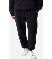 pantalon jogger talla extra grande negro uniforma