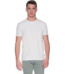 calvin klein t-shirt met korte mouwen wit