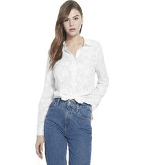 camisa ls frederica blanco guess