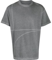 a-cold-wall* two tone t-shirt - grey