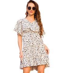 vestido falda de playa casual mujer
