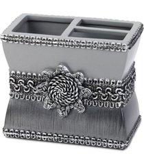 avanti braided medallion granite toothbrush holder bedding
