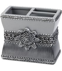 avanti braided medallion granite toothbrush holder bedding