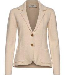 longocr cardigan blazer colbert beige cream