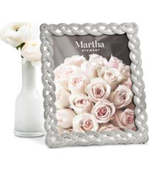 """martha stewart collection large 8"""" x 10"""" braided frame, created for macy's"""