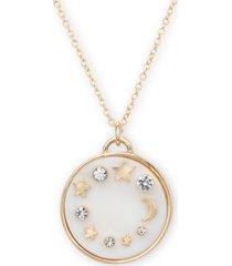 """rachel rachel roy gold-tone crystal celestial 20"""" pendant necklace"""