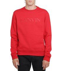 lanvin ruby lanvin paris sweatshirt