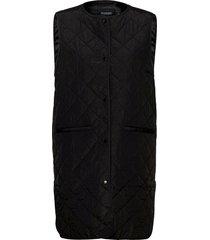 slumina waistcoat vests padded vests svart soaked in luxury