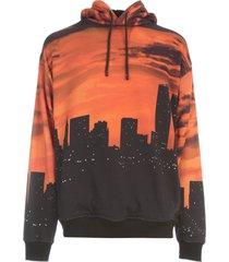 buscemi hoodie with skyline print