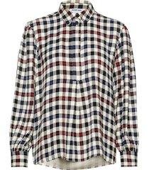 frigg shirt långärmad skjorta multi/mönstrad designers, remix