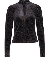onoiw blouse blouse lange mouwen zwart inwear