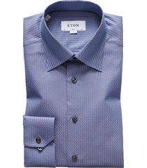 men's eton slim fit dress shirt