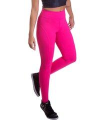 calã§a  legging miss blessed premium montaria rosa - rosa - feminino - poliamida - dafiti