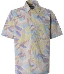 nigel cabourn x element summer short sleeve shirt | abstract camo | w1shd1elp