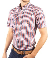 camisa cuadros manga corta ref. 103010220