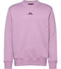 hurl bridge-jljl sweat sweat-shirt tröja rosa j. lindeberg