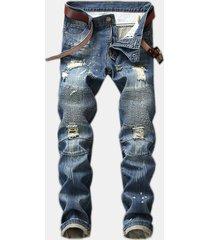 foro jeans slim fold jeans stretti pantaloni per uomo