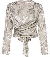 ono blouse 11333 blouse lange mouwen crème samsøe & samsøe