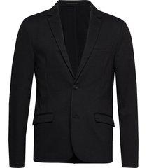 superflex knitted blazer blazer kavaj svart lindbergh