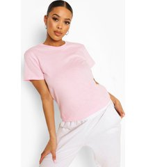 basic oversized boyfriend t-shirt, pale pink