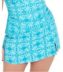 bleu by rod beattie trendy plus size skirted swim bottoms women's swimsuit