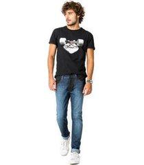calca jeans +5561 mambai resinada reserva masculina