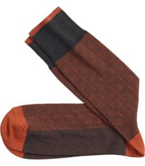 johnston & murphy circle grid socks