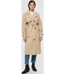 selected femme 16072177 slfweeky ls trench coat w bruin