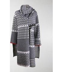 stella mccartney oversized shawl cardi-coat
