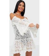 hunkemöller allover lace tunic strandplagg