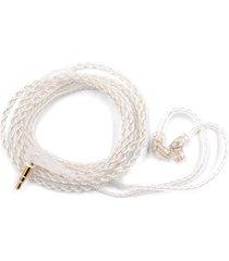 audifonos, cable de audio desmontable de 0,75 mm para cable de