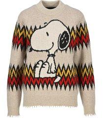 alanui snoopy sweater